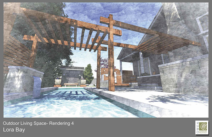3D renderings (optional) are developed based on the chosen concept - an indispensable tool for helping the homeowner visualize the design